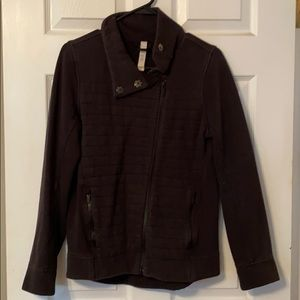 "Lululemon black ""heather"" jacket"